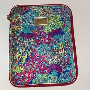 Lilly Pulitzer Tablet Case With Pockets